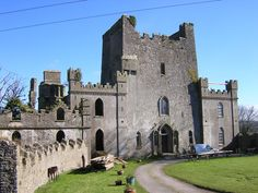 "Leap Castle, County Offaly, Ireland  It was built in the late 15th century by the O'Bannon family and was originally called ""Léim Uí Bhanáin,"" or ""Leap of the O'Bannons."" The O'Bannons were the ""secondary chieftains"" of the territory, and were subject to the ruling O'Carroll clan."