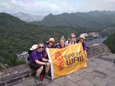 Group hike to the Great Wall of China