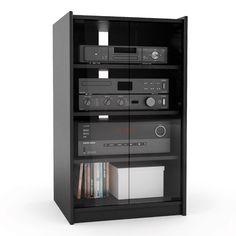 Merveilleux Audio Storage Cabinet