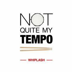 Whiplash movie poster redesign by Jooh