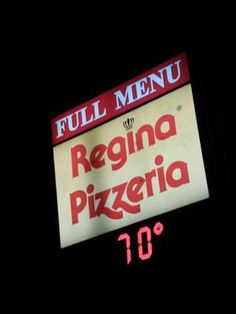regina pizzeria. (50 late-night food options in the boston area) $1 slices at the bar 11 pm - 1 am.