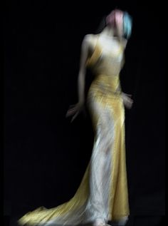 Photo by Nick Knight, gown by Atelier Versace