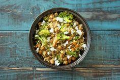 Roasted Broccoli & Chickpea Salad