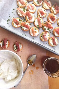 Salty, creamy, and crunchy, these bites will be the best cracker appetizers you've ever had. Get the recipe at Seasonly.