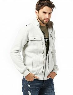Mens High Neck Cotton Zipup Jacket (606). #jackets #coats #menscoat #menjackets #mencloth #menclothing #doublju