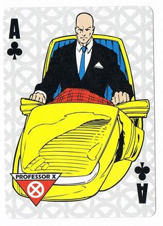 Professor X - Ace of Clubs by stormantic, via Flickr