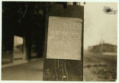 Sign on Company store, Wheaton Glass Works. Location: Millville, New Jersey.
