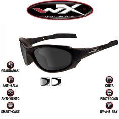 Gafas Wiley X Tácticas, XL-1 Advanced. 2 gafas en una. Lentes intercambiables (oscuras y transparentes). Las gafas de los Marines Americanos #WileyX #airsoft #gafasdesol