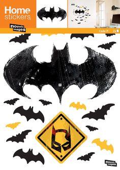 Voic un sticker mural Batman avec évidemment le logo de la célèbre chauve souris ! Ce sera parfait dans une chambre d'enfant :) Il mesure 69,6 cm de haut, pour une largeur de 49 cm
