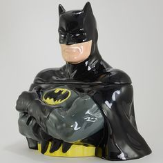 Batman Cookie Jar  Westland Giftware, 2012, 25515, Bust - retired favorite captures the Dark Knight' strength and valor