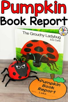 Pumpkin Book Report, Pumpkin Book Report Idea, Pumpkin Book Character Report, No Carve Pumpkin, Book Inspired Pumpkin