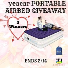 Cassandra M's Place: Portable Airbed Giveaway