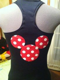 Minnie Mouse Inspired running costume