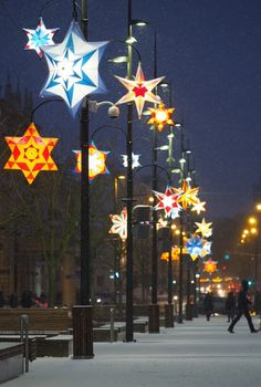 Iluminacje świąteczne w Lublinie - Autor: Wojciech Nieśpiałowski