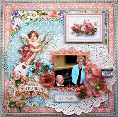 Scrap, Travel, and Bark!: Tutorial - Sweet Sentiments layout!