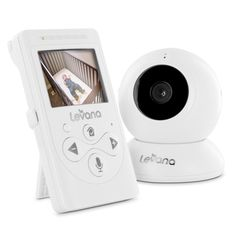 Best Baby Monitors Comparison 2015 | CrowdBest.com • Levana Lila Digital Baby Video Monitor with Night Vision and Talk to Baby Intercom - 2 Cameras Included