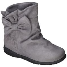 Toddler Girls Cherokee Jayda Boot - Grey