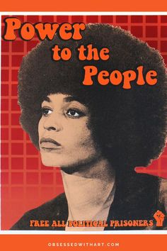 """""""Power to the People,"""" Screen Print, 14"""" x 11"""", 2021 Karen Fiorito is an activist artist and curator residing in California. Her artwork has been exhibited internationally and featured in major… Black Art Painting, Black Artwork, Black Art Pictures, Power To The People, Black Artists, Screen Printing, Screen Printing Press, Silk Screen Printing, Screenprinting"""