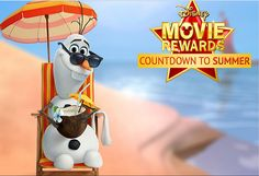 FREE Disney Movie Rewards Points Countdown to Summer!