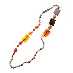 QUMAY Bisutería hecha a mano con piedras naturales | Collar de Ágatas Ref. P008