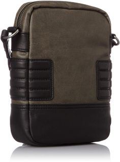 Amazon.com: Diesel Men's Urban Core Slim Cross, Olive Night, One Size: Clothing Best Messenger, Cool Messenger Bags, Leather Backpack, Leather Wallet, New Bag, Black Cross Body Bag, Size Clothing, Leather Shoulder Bag, Bag Accessories