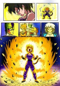 Furipa vs Yuuko - Pag 2 by WembleyAraujo on DeviantArt Dragon Ball Z, Manga Art, Anime Art, Female Goku, Cool Art, Concept Art, The Incredibles, Deviantart, Teaching Feeling