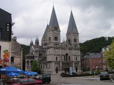 The church of St. Remacle in Spa, Belgium