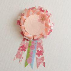 卒園にピッタリ!100均で桜ロゼット | Thankyou Works Blog Blog Entry, Accessories