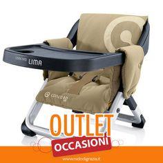 Sul nostro outlet, scontatissimo, anche l'alzasedia da viaggio Lima, che può essere fissato a qualsiasi sedia con un solo gesto. Leggero, compatto e veloce da ripiegare! cercalo nella nostra sezione dei prodotti in offerta: http://ndgz.it/outlet-nidodigrazia #offerte #bambini #outlet