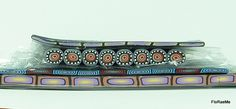 Polymer Clay Border Canes (3) by FloRaeMe, via Flickr
