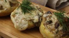 Fırında Kremalı Mantarlı Enginar Food N, Good Food, Food And Drink, Starters, Baked Potato, Mashed Potatoes, Veggies, Appetizers, Healthy Recipes