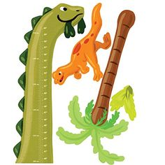 Wallies Wall Decals, Dino Growth Chart Wall Sticker, x * For more information, visit image link. (This is an affiliate link) Vinyl Wall Decals, Wall Stickers, Art Wall Kids, Wall Art, Bedroom Door Signs, Hanging Letters, Peel And Stick Vinyl, London Map, Aleta
