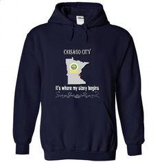Chisago City - tshirt design #long shirt #tee trinken