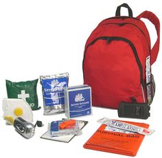 An everyday emergency kit which can be kept in the car or can be carried. While these types of kits can be expensive to buy, it is easy to build an emergency kit with most things available from outdoor shops or supermarkets, (a fully charged iPod and mobile phone can an alternative to a battery powered radio).