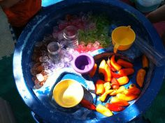 """Lots of ideas for enhancing outdoor play with the sand & water tables here ("""",)"""