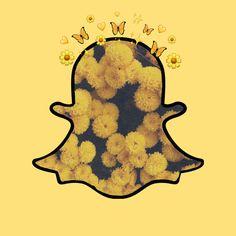 Snapchat Logo, Snapchat Icon, Black Aesthetic Wallpaper, Aesthetic Wallpapers, Yellow Snapchat, Cloud Wallpaper, App Covers, Aesthetic Themes, Logo Images
