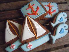 cute Nautical Cookies