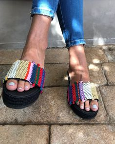 Sandals, Greek Sandals, Leather Sandals, Boho sandals, Leather platforms, Woven sandals, Crochet Sandals, Summer sandals, Made in Greece #sandals #aluminum #greek #leather #fashion #style #boho #bohemian #ethnic #shoes