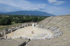 Ancient theatre of Philippi, believed to be built by Philip II of Macedonia. Image by Karyn Noble / Lonely Planet