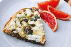 Leafy Greens and Goat Cheese Frittata