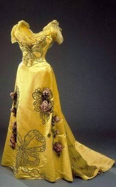 Worth Dress  1890   made for Queen Alexandrine of Denmark