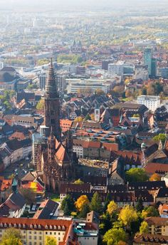 #Freiburg from above    ©  Rebecca Davies