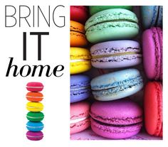 """Bring It Home: Scented Macaron Eraser Set"" by polyvore-editorial ❤ liked on Polyvore featuring interior, interiors, interior design, home, home decor, interior decorating and bringithome"