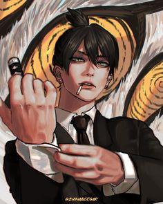 Anime Manga, Anime Guys, Anime Art, Estilo Anime, Chainsaw, Pretty Art, Aesthetic Anime, Art Reference, Anime Characters