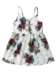 Beautiful sleeveless dress for your little princess Floral perfection 2 styles available Picture her in this perfect outfit Fashion Kids, Little Girl Fashion, Toddler Fashion, Fashion Outfits, Baby Girl Dresses, Baby Dress, Flower Girl Dresses, Dress Girl, Little Girl Outfits