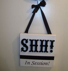 Restroom Treatment Room Sign by AllSpelledOut on Etsy, $38.00