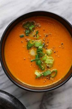 Moroccan Carrot Summer Soup   23 Chilled Soups To Cool You Down
