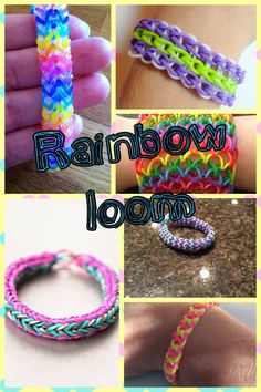 Unique rainbow loom bracelets