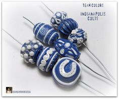 Indianpolis Colts by leeleebeads, via Flickr