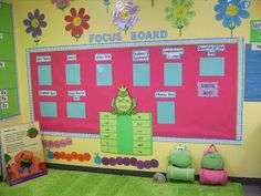 Life in First Grade: Focus Board